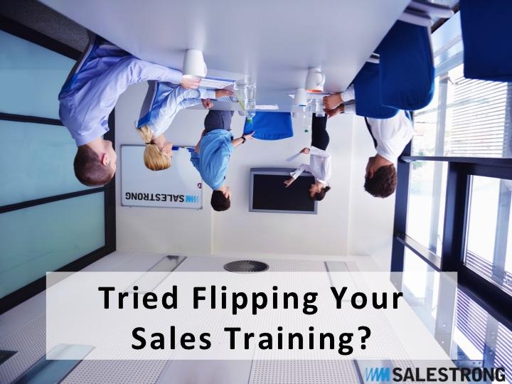 Flipping sales training