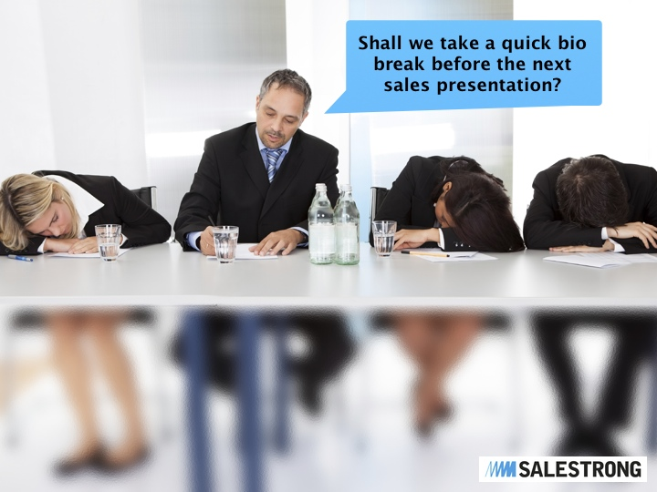how to create a sales presentation